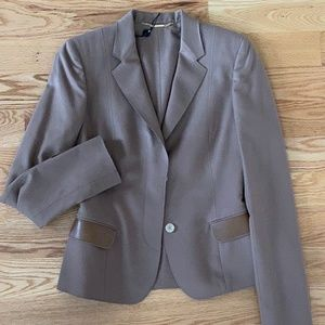 NWT Gucci Brown Wool/Cashmere Blazer (42/8)